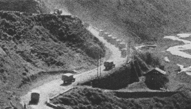 Колонна 43 АТЧ возвращается в СССР